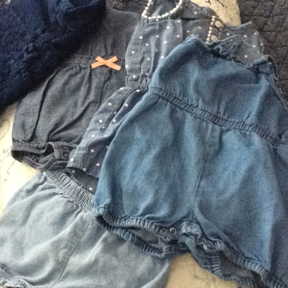 Carter's Other - Bundle of Chambray, Denim Play Clothes